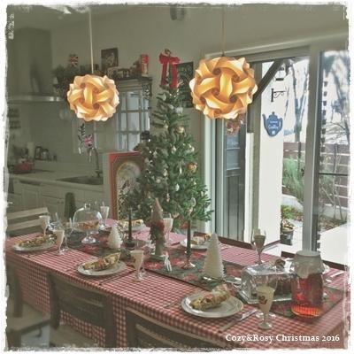 Cozy&Rosyクリスマス