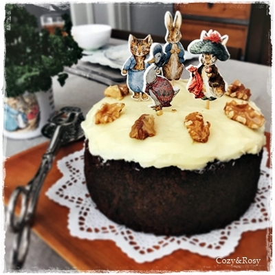 英国菓子 キャロットケーキ