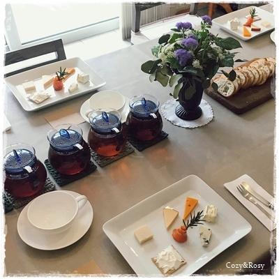 紅茶×チーズ(フード)のペアリング
