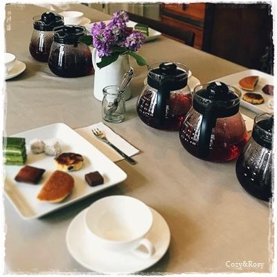 紅茶とスイーツのペアリング