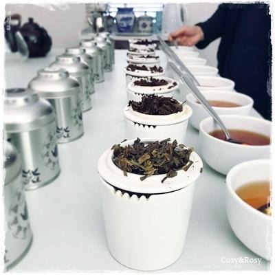 紅茶のテイスティング