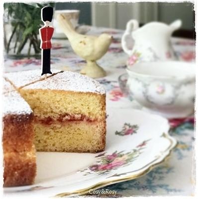ヴィクトリアサンドイッチケーキ 英国菓子