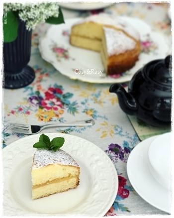 英国菓子 ヴィクトリアサンドイッチケーキ 夏バージョン