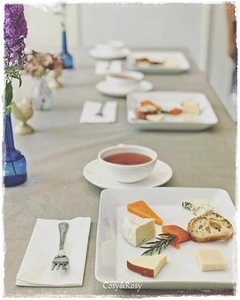 紅茶とチーズのペアリング