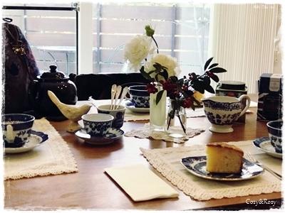 紅茶と ティータイムと