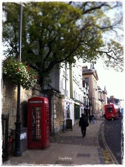 11月の英国オックスフォード