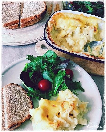 イギリスごはん Cauliflower & Cheese