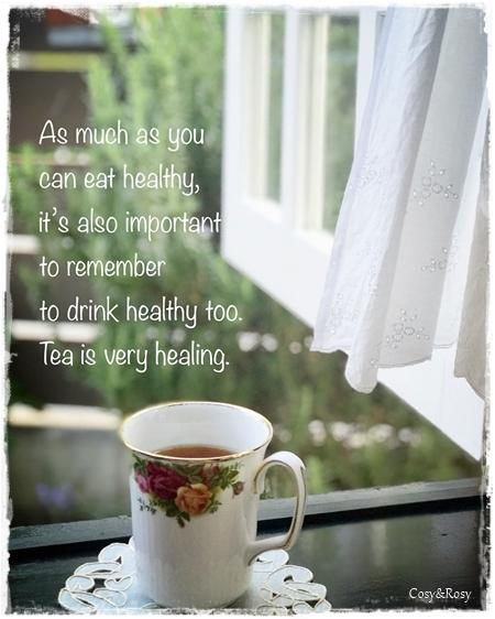癒しの紅茶