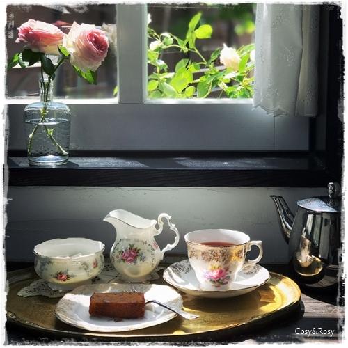 日曜日のお茶の時間