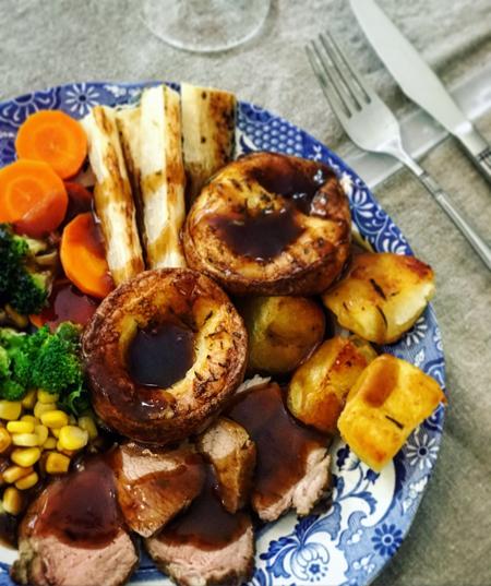 英国料理 ローストディナー(サンデーロースト)