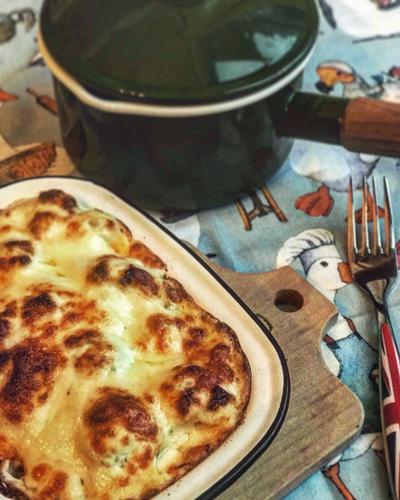 英国料理 カリフラワー&チーズ