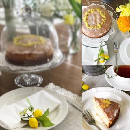 英国菓子 レモンドリズルケーキ de リフレッシュ