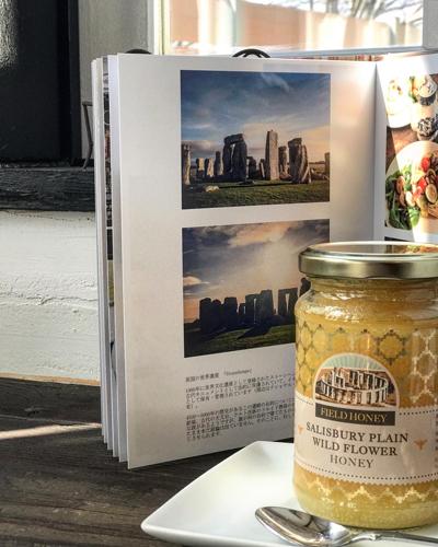 英国の世界遺産ストーンヘンジ界隈で採取された蜂蜜