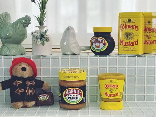 イギリスの味❤ Colman'sマスタードとMARMITEピーナッツバター