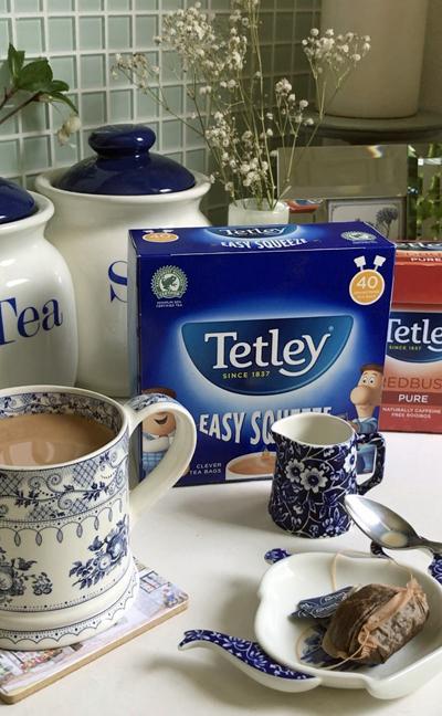 イギリスの紅茶 Tetley ティーバッグ