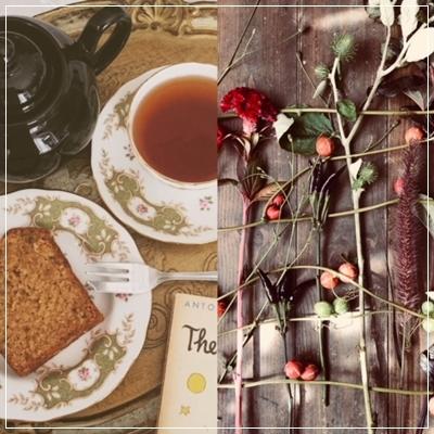 「花*紅茶de私時間」秋レッスンのご案内