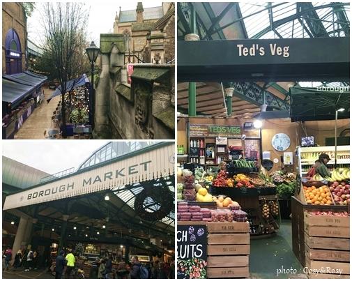 英国の台所 Borough Market ロンドン