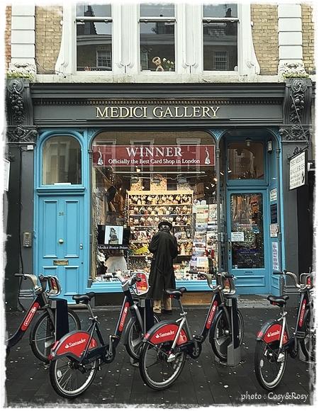 ロンドンのカード屋さん MEDICI GALLERY