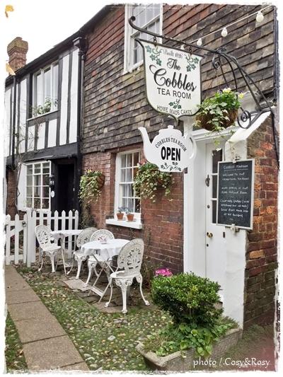 英国ティールーム巡り Rye「The Cobbles Tea Room」