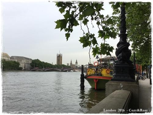 ロンドン・朝散歩
