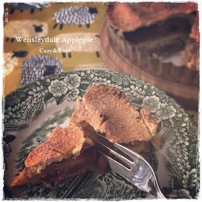 英国菓子 Wensleydale風アップルパイ